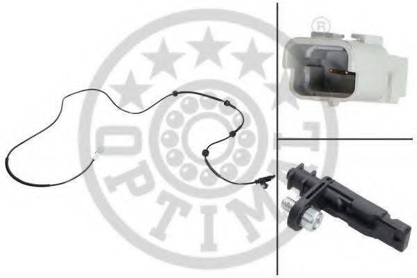 OPTIMAL 06S409 Датчик, частота вращения колеса