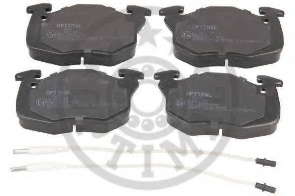 OPTIMAL 9415 Комплект тормозных колодок, дисковый тормоз