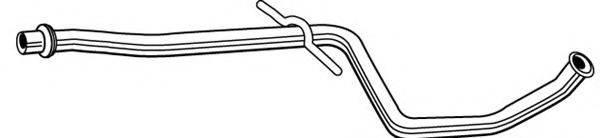 WALKER 09248 Труба выхлопного газа