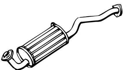 WALKER 18286 Глушитель выхлопных газов конечный