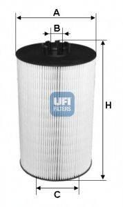 UFI 2501900 Масляный фильтр