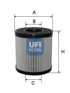 UFI 2506000 Масляный фильтр
