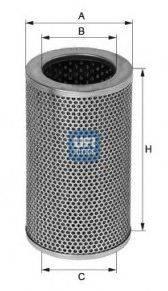 UFI 2540601 Масляный фильтр; Гидрофильтр, рулевое управление