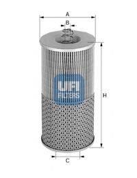 UFI 2542300 Масляный фильтр