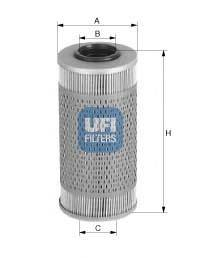UFI 2668700 Топливный фильтр