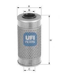 UFI 2669400 Топливный фильтр