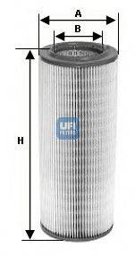 UFI 2765100 Воздушный фильтр