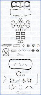 AJUSA 50130500 Комплект прокладок, двигатель