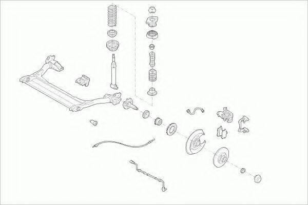 BOGE AUDIA4RB003 Рулевое управление; Подвеска колеса