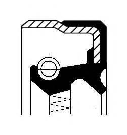 CORTECO 01019205B Уплотняющее кольцо, ступица колеса