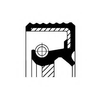 CORTECO 20019850B Уплотняющее кольцо, распределительный вал