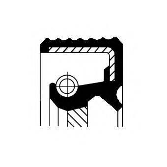 CORTECO 20018713B Уплотняющее кольцо, коленчатый вал