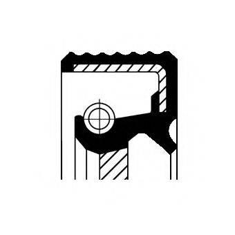 CORTECO 01036301B Уплотняющее кольцо, ступенчатая коробка передач; Уплотняющее кольцо вала, автоматическая коробка передач