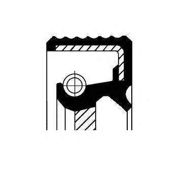 CORTECO 20015493B Уплотняющее кольцо, дифференциал