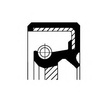CORTECO 19016600B Уплотняющее кольцо, коленчатый вал