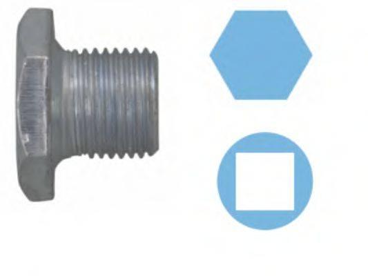 CORTECO 220105S Резьбовая пробка, маслянный поддон