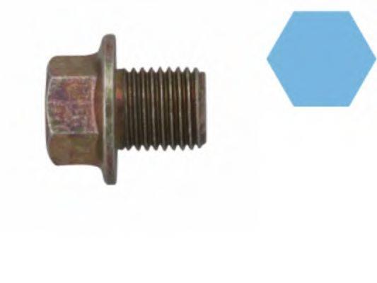 CORTECO 220122S Резьбовая пробка, маслянный поддон