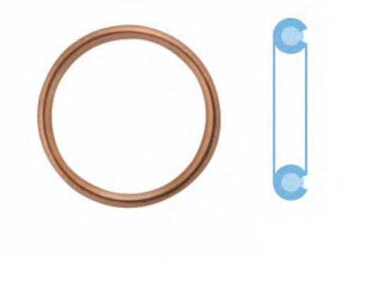 CORTECO 005709S Уплотнительное кольцо, резьбовая пр