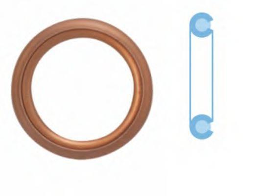 CORTECO 402129S Уплотнительное кольцо, резьбовая пр