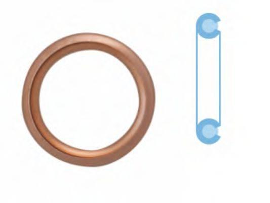 CORTECO 407711S Уплотнительное кольцо, резьбовая пр