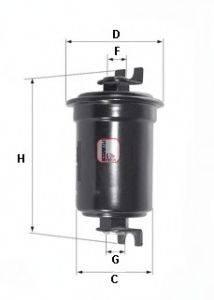 SOFIMA S1525B Топливный фильтр