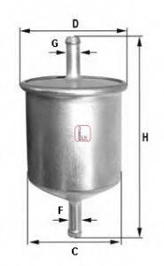 SOFIMA S1582B Топливный фильтр