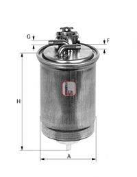 SOFIMA S4424NR Топливный фильтр