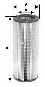 SOFIMA S7651A Воздушный фильтр