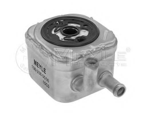 MEYLE 1000380016 масляный радиатор, двигательное масло