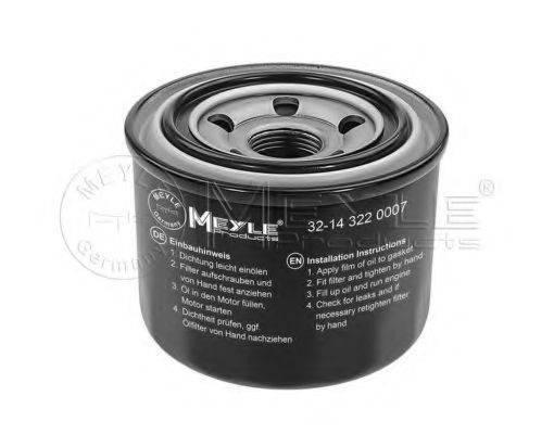 MEYLE 32143220007 Масляный фильтр