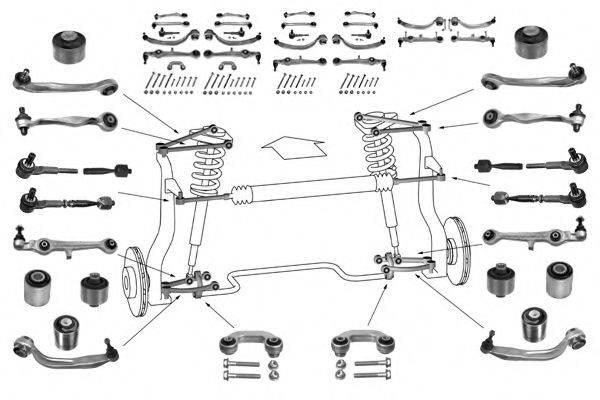 MEYLE WG0025300 Рулевое управление; Подвеска колеса