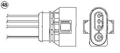 NGK 1620 Лямбда-зонд