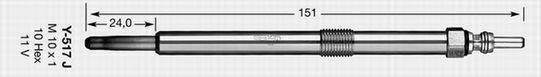 NGK 91766 Свеча накаливания