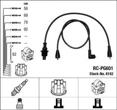 NGK 8182 Комплект проводов зажигания