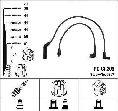 Комплект проводов зажигания NGK 8287