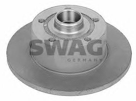 SWAG 30909079 Тормозной диск