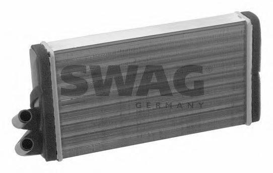 SWAG 30911090 Теплообменник, отопление салона