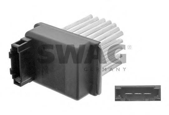 SWAG 32934793 Сопротивление, вентилятор салона