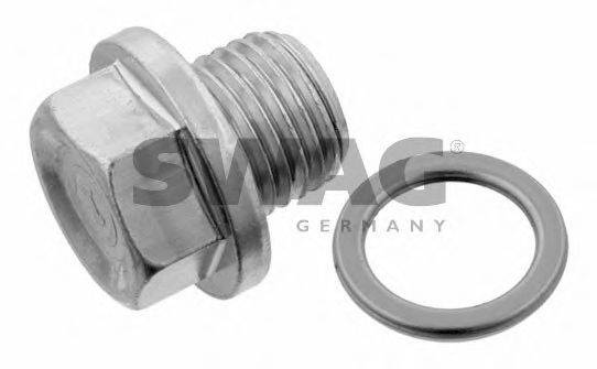 SWAG 80930269 Резьбовая пробка, маслянный поддон