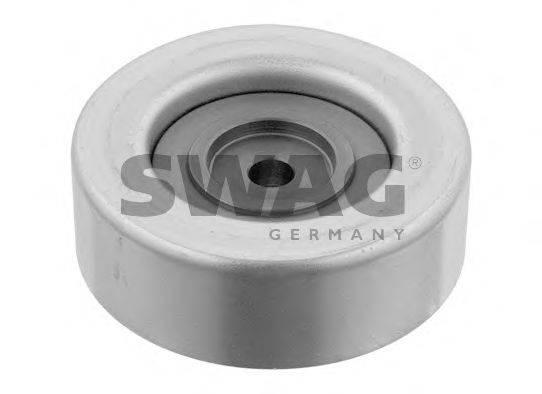 SWAG 80932447 Паразитный / ведущий ролик, поликлиновой ремень