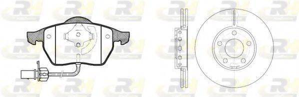 ROADHOUSE 839000 Комплект тормозов, дисковый тормозной механизм