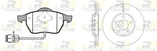 ROADHOUSE 839001 Комплект тормозов, дисковый тормозной механизм