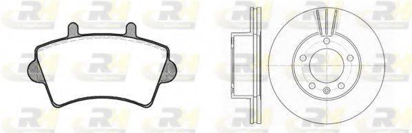 ROADHOUSE 881901 Комплект тормозов, дисковый тормозной механизм