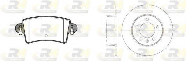 ROADHOUSE 883300 Комплект тормозов, дисковый тормозной механизм