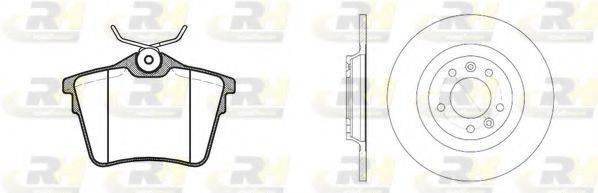 ROADHOUSE 8110300 Комплект тормозов, дисковый тормозной механизм