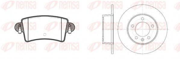 REMSA 883300 Комплект тормозов, дисковый тормозной механизм