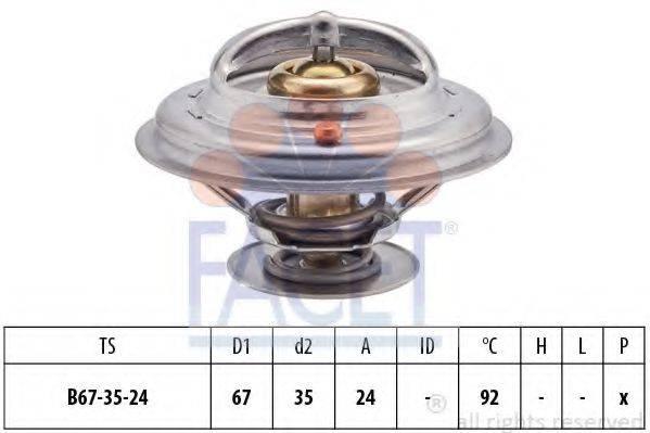 FACET 78401S Термостат, охлаждающая жидкость