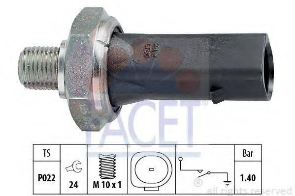 FACET 70135 Датчик давления масла