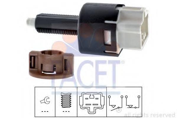 FACET 71177 Выключатель фонаря сигнала торможения