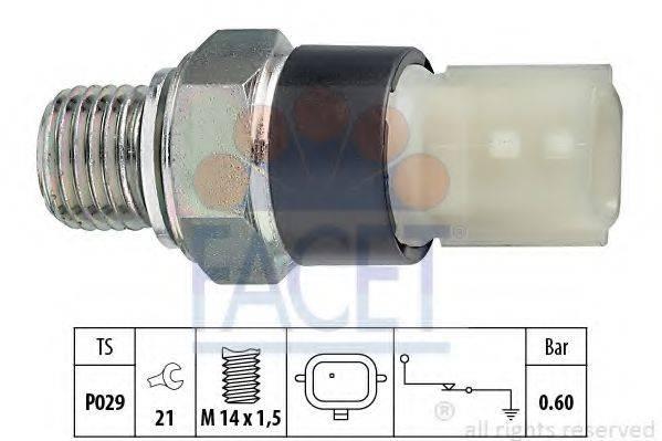 FACET 70178 Датчик давления масла